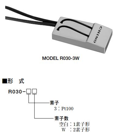 测量气体温度的热电阻传感器R000
