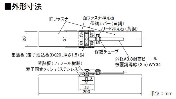 管道表面温度测量的传感器R420